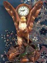 Vintage: Ceramic Eagle Clock in Warner Robins, Georgia