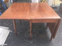 Cherry Drop-leaf Table and 6 chairs in Camp Lejeune, North Carolina