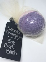 Lavender Champagne Bath Bomb 5oz in Vista, California