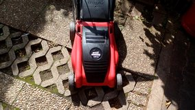 Eletric Lawn Mower with Bag in Ramstein, Germany