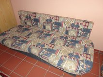 Sleeper sofa queen size FUTON couch love seat in Ramstein, Germany