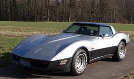 1982 Corvette C3 Targa Crossfire Injection in Spangdahlem, Germany