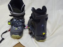 snowboardboots with step-in bindings size 11.5 in Baumholder, GE