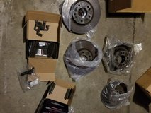 Front and rear Rotors and brakes in Naperville, Illinois
