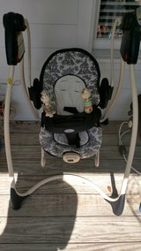 Two in one baby swing with removable bouncy seat in Beaufort, South Carolina