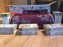Cricut Expression Machine and 10 Cartridges in Bolingbrook, Illinois