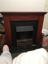 fire place in Lakenheath, UK