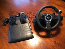 REDUCED AGAIN! Driving Force Pro Racing Steering Wheel & Pedals in Stuttgart, GE