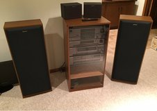 Sony Stereo Component System and Speakers in Lockport, Illinois