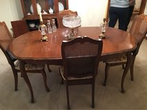 Dining room table with chairs in Palatine, Illinois