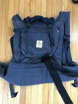 Organic Navy Ergo baby carrier in Plainfield, Illinois
