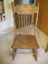VINTAGE MAPLE ROCKING CHAIR - PRE-OWNED - EX-CONDITION! in Sandwich, Illinois