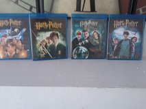 4 BLU RAY Harry Potter Movies in Plainfield, Illinois