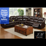 WINSLOW RECLINER SECTIONAL FREE DELIVERY in Huntington Beach, California