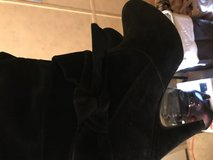 Black suede Boots 8 1/2 in Kingwood, Texas