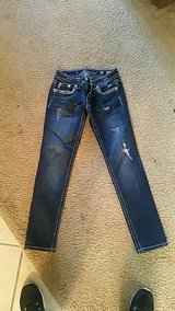 "Miss Me jeans size 27 with 30"" inseam in Warner Robins, Georgia"