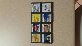 8 Nintendo DS games in Warner Robins, Georgia