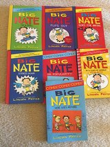 Big Nate 7 chapter children's books lot in Naperville, Illinois