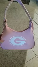 small pink uga purse, new with tags in Warner Robins, Georgia