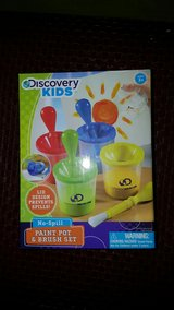 New Discovery kids paint pots and paintbrushes in Travis AFB, California