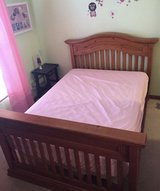Full size bed and mattress (has a matching dresser) in Westmont, Illinois
