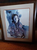 "Amy R. Stein signed and framed ""Memory"" Print! in 29 Palms, California"