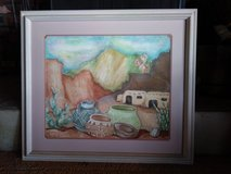 Colorful Signed and Framed Print! in 29 Palms, California