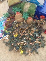Lot of Toy Soldiers, helicopter, tanks, much more! in Bartlett, Illinois