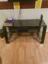 Glass TV stand in Fort Leonard Wood, Missouri