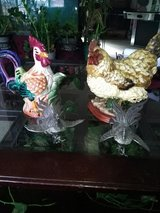 Chicken rooster set in Fort Leonard Wood, Missouri