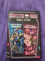 Monster High double feature DVD in Kingwood, Texas