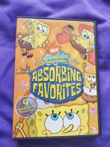 SpongeBob SquarePants Absorbing Favorites DVD in Kingwood, Texas