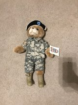 Military bear in Fort Drum, New York
