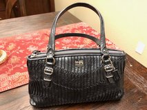 Coach Madison Gathered Leather Handbag - like new! in Travis AFB, California