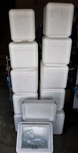 11 THICK Insulated Foam Coolers Including Reusable Ice Packs in Vacaville, California