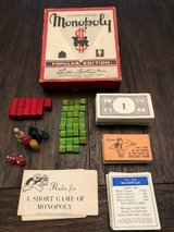 Vintage 1950s Monopoly Popular Edition in Vacaville, California