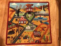 Cars rug playmat 3x3 in Chicago, Illinois