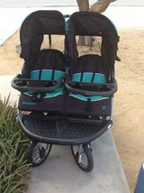 Baby trend double jogger stroller in 29 Palms, California