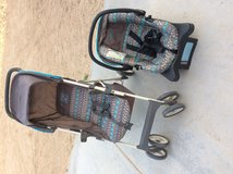 Car seat and stroller in 29 Palms, California