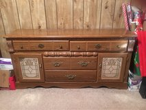 dresser with matching night stand in Fort Leonard Wood, Missouri