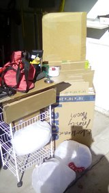 Moving boxes and supplies in San Diego, California