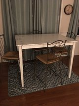 High top shabby chic table w/4 chairs in Cherry Point, North Carolina