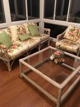 Settee / table/chair in Cherry Point, North Carolina