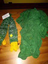Green scart & gloves set in The Woodlands, Texas