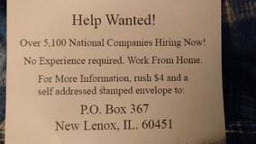help wanted  set your hours. in New Lenox, Illinois
