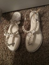 Size 8 sandals from David's bridal——never worn. Leaving town next week! in Fort Leonard Wood, Missouri