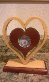 Double Heart Picture Frame in Fort Leonard Wood, Missouri