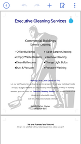 Executive Cleaning Services in Warner Robins, Georgia