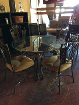 Wrought Iron Ashley Dinette Table and Chairs in Leesville, Louisiana