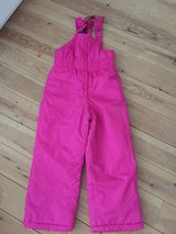 Pink Ski Trousers kids age 5-6 in Lakenheath, UK